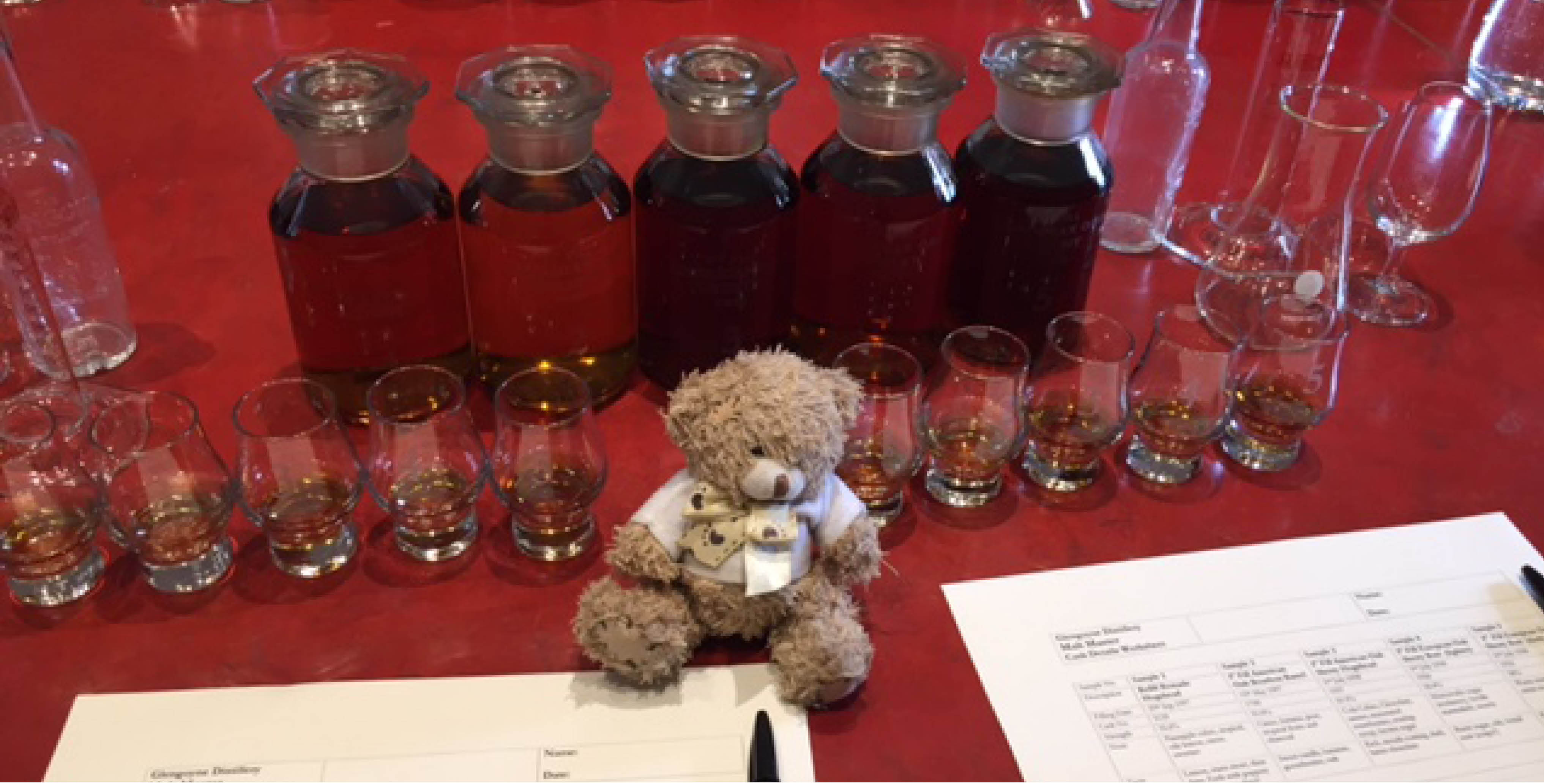 Blending whisky