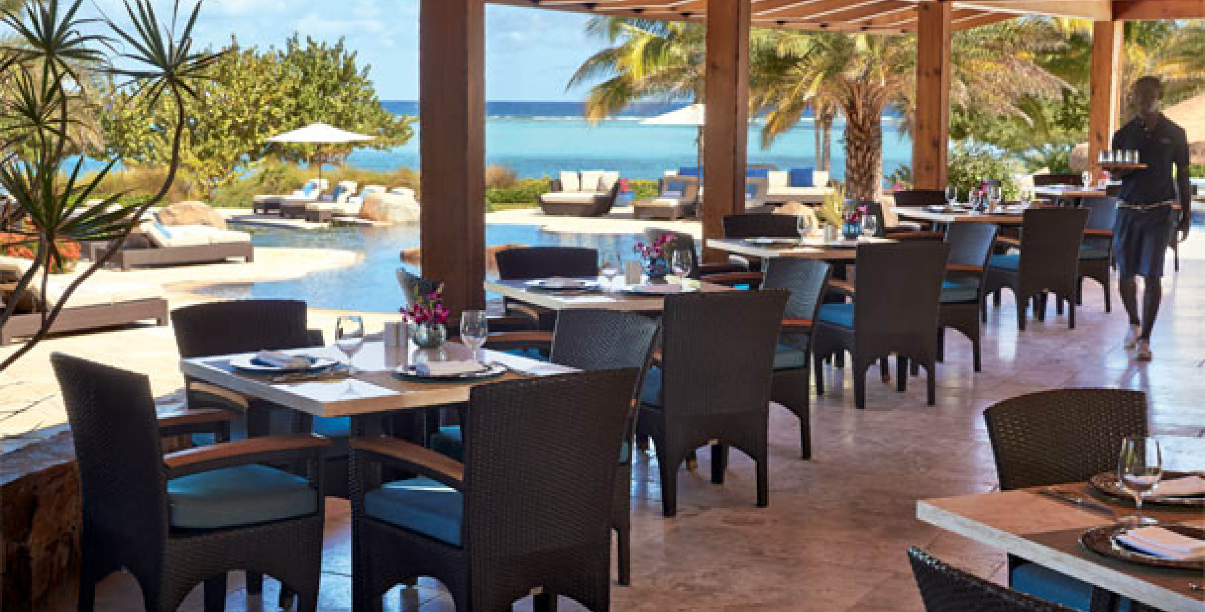 Oil Nut Bay Beach Club - Dining