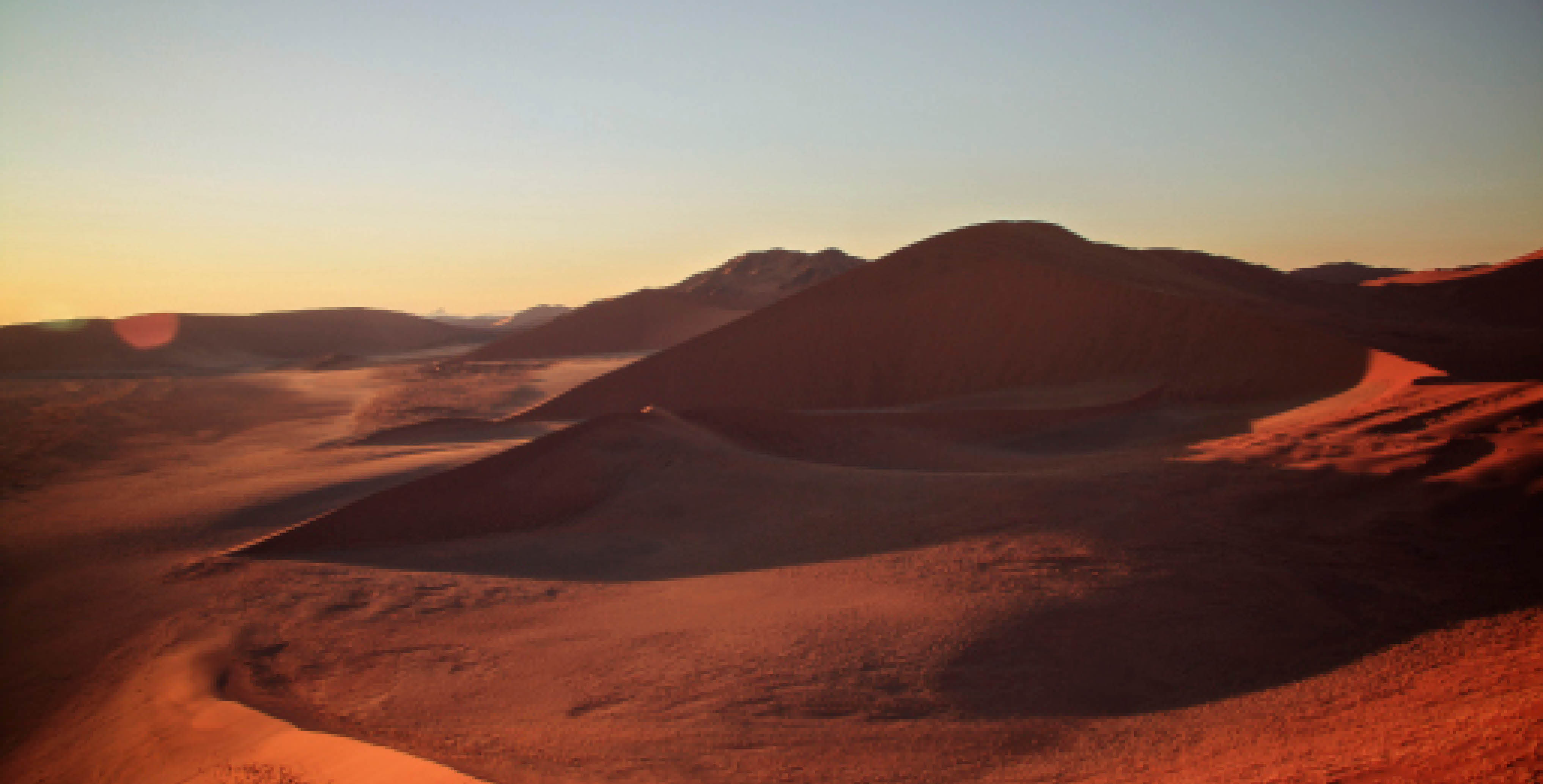 Namibia's famous dunes