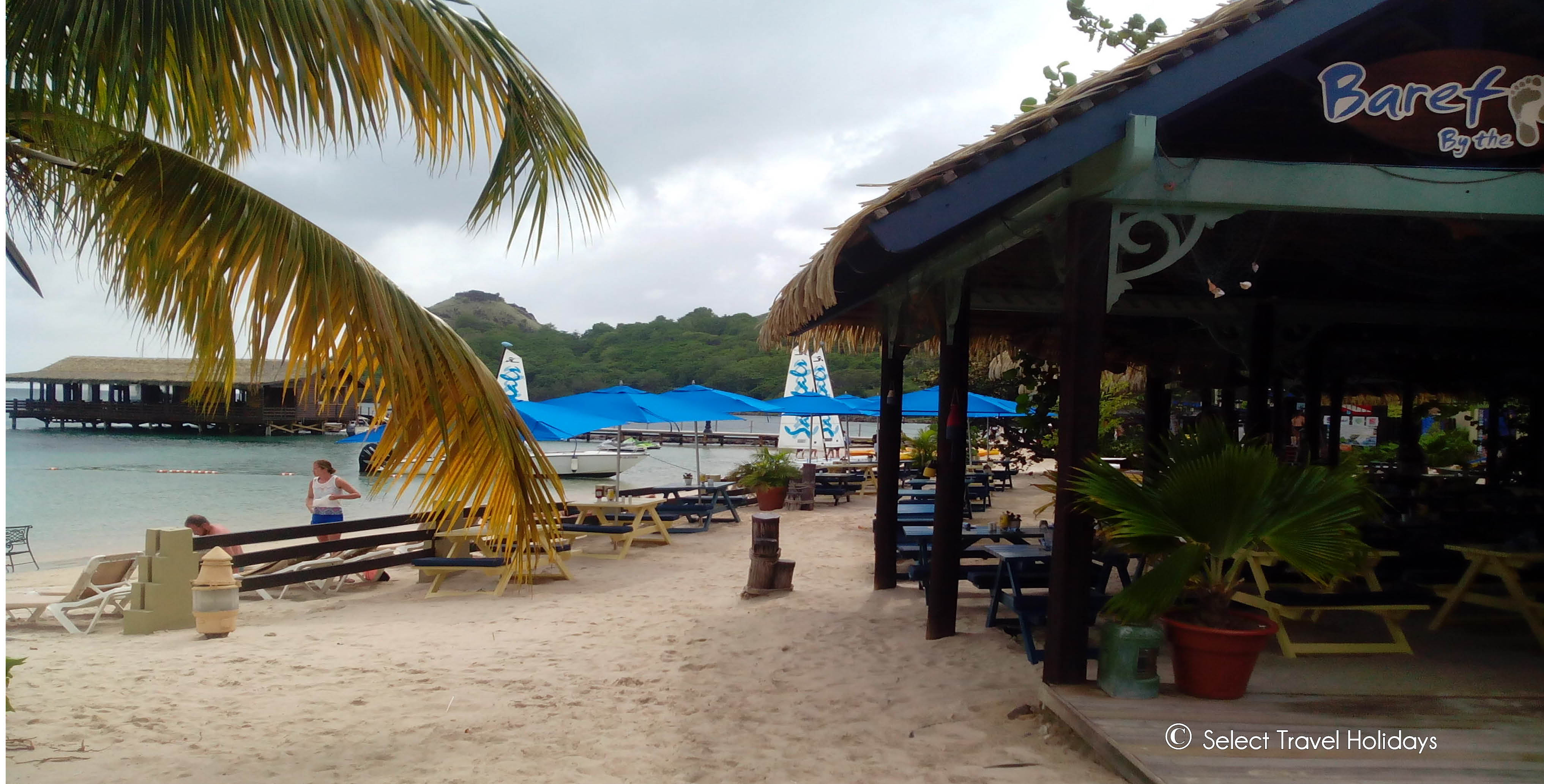 Barefoot on the Beach, Sandals Grande St Lucia