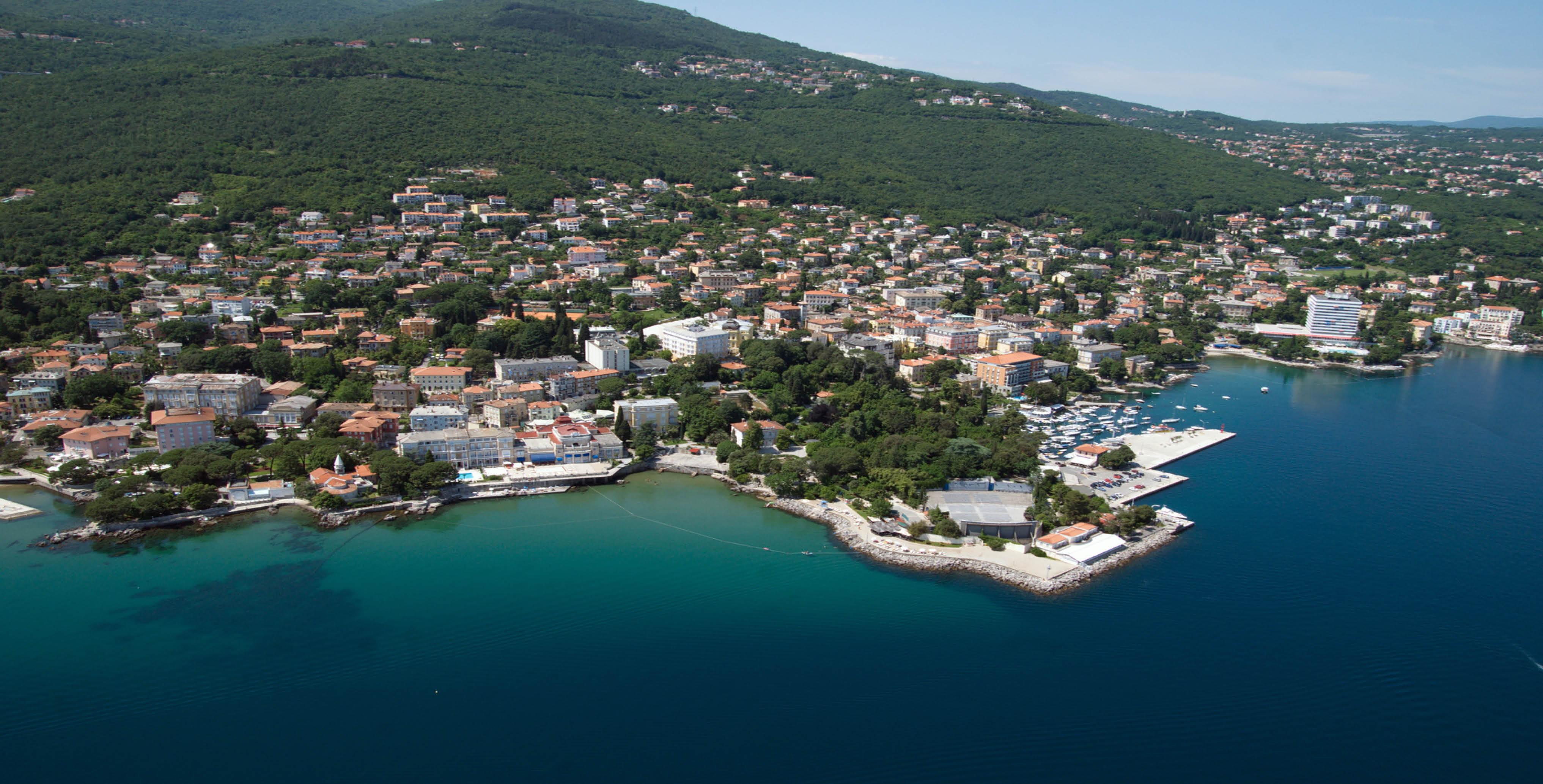 Croatia 39 s opatija riviera select travel holidays for Design hotel opatija croatia